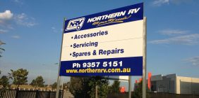 building signs Roxburgh park