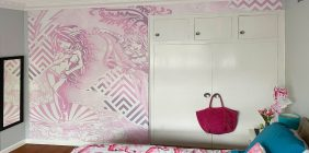 bedroom wall wrap