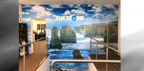 commercial wall wraps