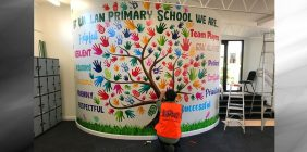 commercial wall wraps melbourne